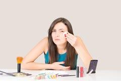 Make up rimuove Immagine Stock Libera da Diritti