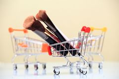 Make-up sale concep Royalty Free Stock Images