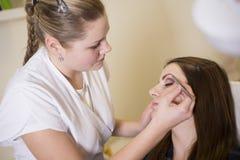 Make up salon Royalty Free Stock Photography