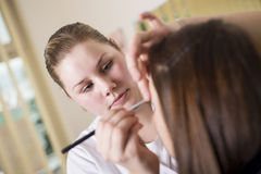Make up salon Royalty Free Stock Photo
