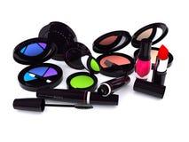 Make-up series. Black Make-up series mix (computer generated images stock illustration
