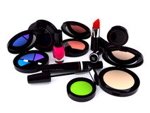 Make-up series. Black make-up series (computer generated images Stock Illustration