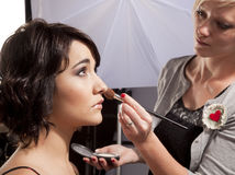 Make-up Session Stock Image