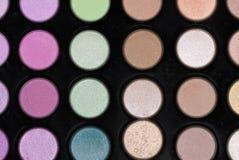 Make-up set. Close-up of a make-up set Stock Photo
