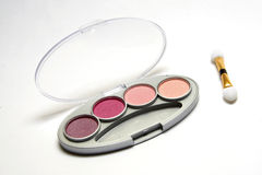Make-up set. Isolated Make-up set Royalty Free Stock Photos