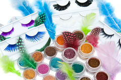 Make-up set Stock Images