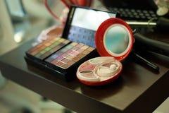 Make up palette Royalty Free Stock Image