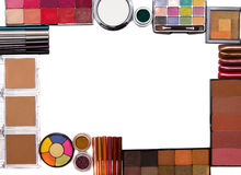 Make-up set frame Stock Image