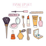 Make Up Set Royalty Free Stock Photo