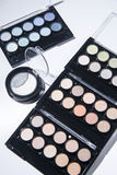 Make up. Set with many different colors Royalty Free Stock Photos