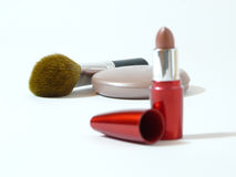 Make up set on a white background Royalty Free Stock Photo