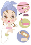 Make up Royalty Free Stock Photo