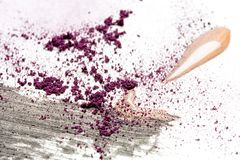 Make-Up Splatter Messy royalty free stock photo