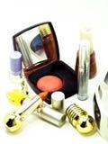 Make-up stuff. Isolated makeup stuff on white background Royalty Free Stock Photo