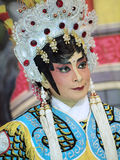 Make up style of Chinese opera Royalty Free Stock Image