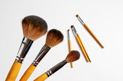Make-up tools Stock Photography