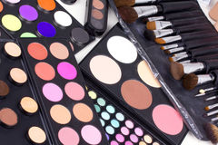 Make-up tools Royalty Free Stock Photo
