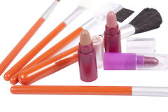 Make-up tools Stock Image