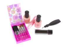 Make-up tools Stock Photos
