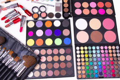 Make-up tools Royalty Free Stock Photos