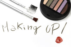 Make up tools Stock Photo