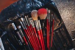 Make Up Tools Close Up Royalty Free Stock Photos