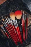 Make Up Tools Close Up Royalty Free Stock Photography