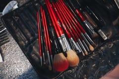 Make Up Tools Close Up Stock Photos