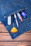 A make up tools Stock Photography