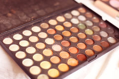 Make up tray Royalty Free Stock Photography