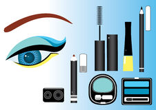 Make up.Vector cosmetics Stock Image