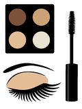 Make Up Vector Royalty Free Stock Photography