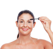 Make up woman Royalty Free Stock Images