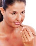 Make up woman Stock Image