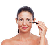 Make up woman Stock Images