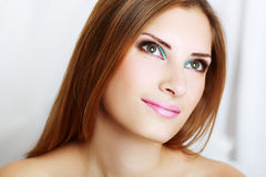 Make-up woman Royalty Free Stock Photography