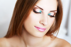 Make-up woman Stock Photos