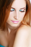 Make-up woman Royalty Free Stock Photos