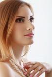 Make-up woman Stock Photography