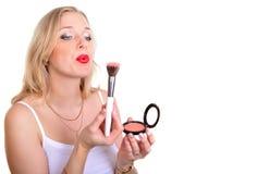 Make up woman Stock Photos