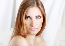 Make-up woman Stock Photo