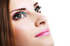 Make-up woman Royalty Free Stock Images