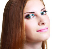 Make-up woman Stock Photography