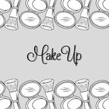 Make-up and womens cosmetics Stock Photo
