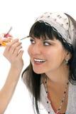 Make up yaung beauty model Stock Images