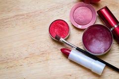 Make-upausrüstung Lizenzfreies Stockbild