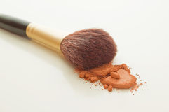 Make-upbürste Lizenzfreie Stockfotografie