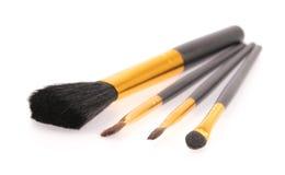 Make-upbürste Stockfoto