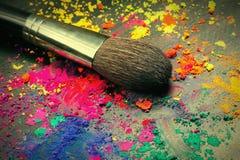 Make-upbürste Lizenzfreie Stockbilder