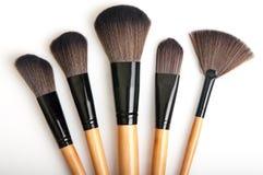Make-upbürsten stockbild